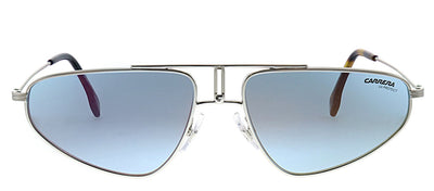 Carrera CA Carrera1021 010 2Y Aviator Metal Palladium Sunglasses with Blue Mirror Lens