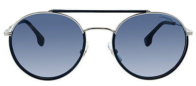 Carrera CA Carrera208 DOH Oval Metal Black Sunglasses with Blue Lens
