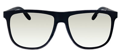 Carrera CA Carrera5003 DL5 Rectangle Plastic Matte Black Sunglasses with Silver Mirror Lens