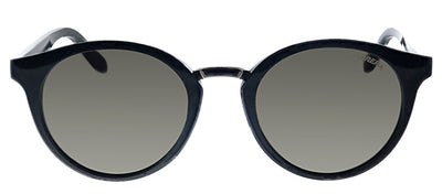 Carrera CA Carrera5036 D28 Round Plastic Black Sunglasses with Grey Lens