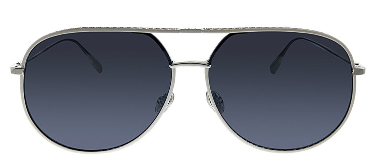 Dior CD DiorByDior 010 2K Pilot Metal Silver Sunglasses with Blue Lens