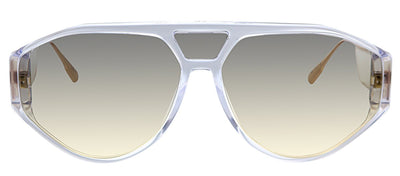 Dior CD DiorClan1 900 Aviator Plastic Crystal Sunglasses with Grey Gradient Lens