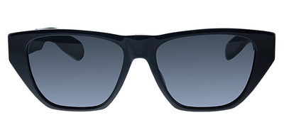 Dior CD InsideOut2 807 2K Geometric Plastic Black Sunglasses with Grey Lens