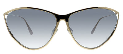Dior CD NewMotard 000 IC Cat-Eye Metal Gold Sunglasses with Grey Mirror Lens
