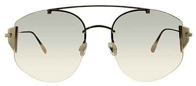 Dior CD Stronger J5G SQ Pilot Metal Gold Sunglasses with Gold Gradient Lens