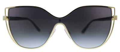 Dolce & Gabbana DG 2236 02/8G Butterfly Metal Gold Sunglasses with Grey Gradient Lens
