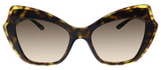 Dolce & Gabbana DG 4361 502/13 Butterfly Plastic Havana Sunglasses with Brown Gradient Lens
