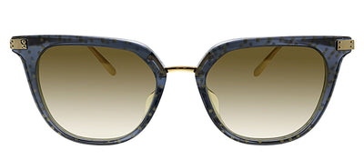 Dolce & Gabbana DG 4363F 32106E Square Plastic Black Sunglasses with Gold Mirror Lens