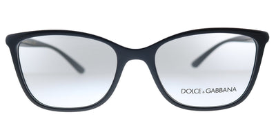 Dolce & Gabbana DG 5026 501 Rectangle Plastic Black Eyeglasses with Demo Lens