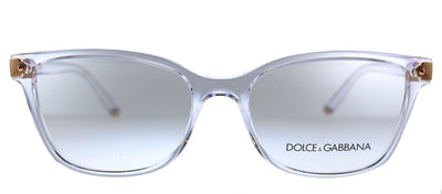 Dolce & Gabbana DG 5036 3133 Butterfly Plastic Clear Eyeglasses with Demo Lens