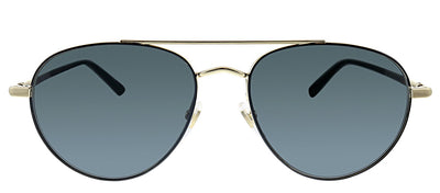 Gucci GG 0388S 006 Pilot Metal Gold Sunglasses with Grey Lens