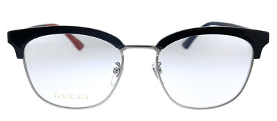 Gucci GG 0409O 003 Rectangle Plastic Black Eyeglasses with Demo Lens