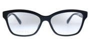 Gucci GG 0798O 001 Rectangle Plastic Black Eyeglasses with Demo Lens