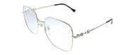 Gucci GG 0883OA 003 Square Metal Gold Eyeglasses with Demo Lens