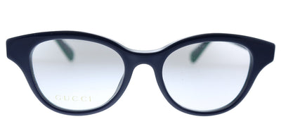 Gucci GG 0924O 004 Round Plastic Blue Eyeglasses with Demo Lens