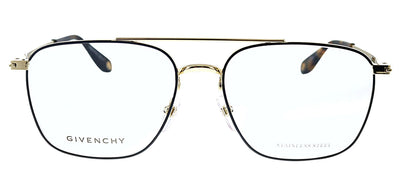 Givenchy GV 0030 RHL Pilot Metal Black Eyeglasses with Demo Lens