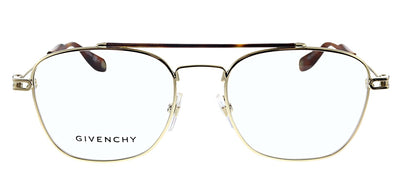 Givenchy GV 0053 J5G Rectangle Metal Gold Eyeglasses with Demo Lens
