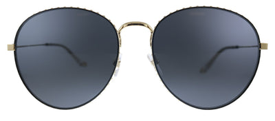 Givenchy GV 7089/S J5G Oval Metal Gold Sunglasses with Grey Lens