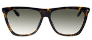 Givenchy GV 7096 086 HA Rectangle Plastic Havana Sunglasses with Brown Lens
