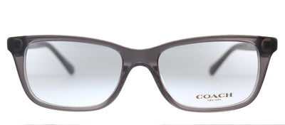 Coach HC 6136U 5447 Rectangle Plastic Grey Eyeglasses with Demo Lens