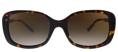 Coach L1114 HC 8278 512013 Rectangle Plastic Havana Sunglasses with Brown Gradient Lens