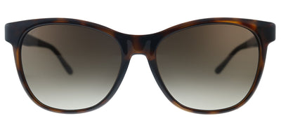 Jimmy Choo JC June/F/S 086 Cat-Eye Plastic Dark Havana Sunglasses with Brown Gradient Lens