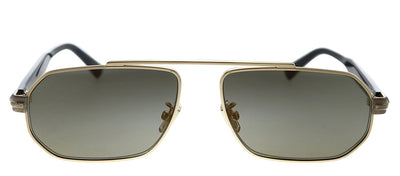 Jimmy Choo JC VIGGO/S 06J K1 Pilot Metal Gold Sunglasses with Green Lens