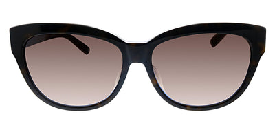 Kate Spade KS Aisha/F/S GYN Cat-Eye Plastic Tortoise Sunglasses with Brown Gradient Lens
