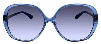 Kate Spade KS Atalina/F/S JBW Butterfly Plastic Blue Sunglasses with Grey Gradient Lens