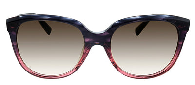 Kate Spade KS Bayleigh/S W67 Square Plastic Pink Havana Sunglasses with Brown Gradient Lens