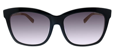 Kate Spade KS Dagmar/F/S ILA Square Plastic Black Sunglasses with Purple Gradient Lens
