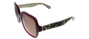 Kate Spade KS Katelee/S S2O Butterfly Plastic Burgundy Sunglasses with Brown Gradient Lens