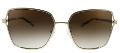 Michael Kors Cancun MK 1087 101413 Square Metal Gold Sunglasses with Brown Gradient Lens