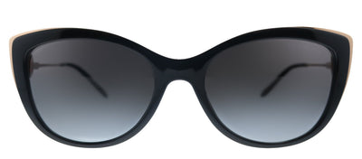 Michael Kors South Hampton MK 2127U 33328G Cat-Eye Metal Black Sunglasses with Black Gradient Lens