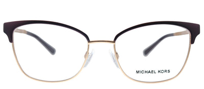 Michael Kors Adrianna IV MK 3012 1108 Cat-Eye Metal Pink Eyeglasses with Demo Lens