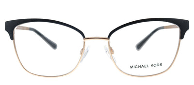 Michael Kors Adrianna IV MK 3012 1113 Cat-Eye Metal Pink Eyeglasses with Demo Lens