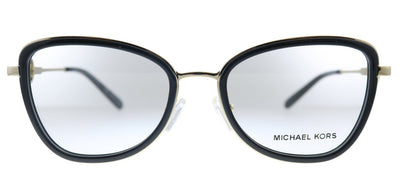 Michael Kors Florence MK 3042B 1014 Butterfly Metal Gold Eyeglasses with Demo Lens