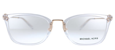 Michael Kors Captiva MK 4054 3105 Rectangle Metal Clear Eyeglasses with Demo Lens