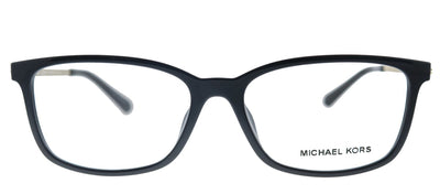 Michael Kors Telluride MK 4060U 3332 Rectangle Plastic Black Eyeglasses with Demo Lens