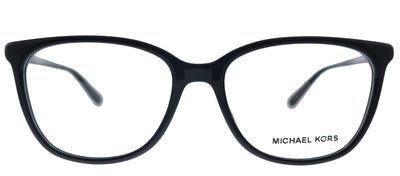 Michael Kors Santa Clara MK 4067U 3005 Rectangle Plastic Black Eyeglasses with Demo Lens