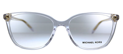 Michael Kors Santa Clara MK 4067U 3015 Rectangle Plastic Clear Eyeglasses with Demo Lens