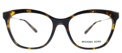 Michael Kors Rome MK 4076U 3006 Square Plastic Havana Eyeglasses with Demo Lens