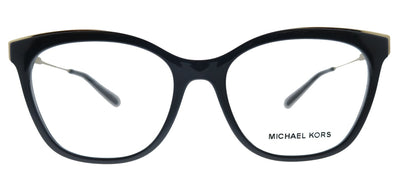 Michael Kors Rome MK 4076U 3332 Square Plastic Black Eyeglasses with Demo Lens