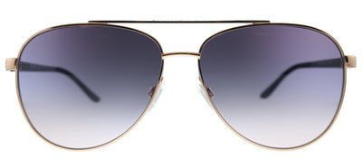 Michael Kors Hvar MK 5007 109936 Aviator Metal Pink Sunglasses with Pink Gradient Lens