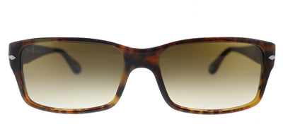 Persol PO 2803S 108/51 Rectangle Plastic Caffe Sunglasses with Brown Gradient Lens
