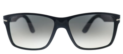 Persol PO 3195S 104132 Rectangle Plastic Black Sunglasses with Grey Gradient Lens
