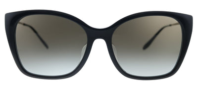 Prada PR 12XSF 1AB0A7 Cat-Eye Plastic Black Sunglasses with Grey Gradient Lens