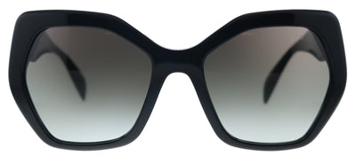 Prada Heritage PR 16RS 1AB0A7 Butterfly Plastic Black Sunglasses with Grey Gradient Lens