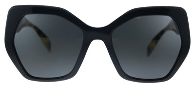 Prada Heritage PR 16RS 1AB5S0 Butterfly Plastic Black Sunglasses with Grey Lens