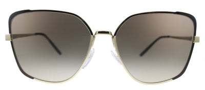Prada  PR 60XS KOF3D0 Butterfly Metal Brown Sunglasses with Brown Gradient Lens